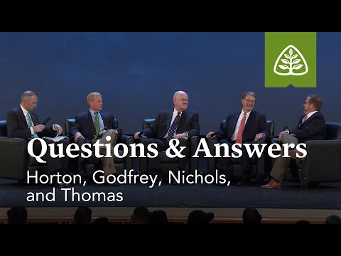 Horton, Godfrey, Nichols, and Thomas: Questions and Answers