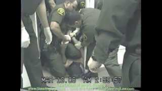 Orange County Sheriff's Department Deputies Beat and Tase Man in Restraint Chair