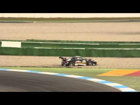 ADAC GT Masters Rene Rast Zweikampf Hockenheimring