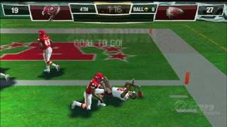 Madden NFL 10 Sony PSP Gameplay - Chiefs vs Bucs