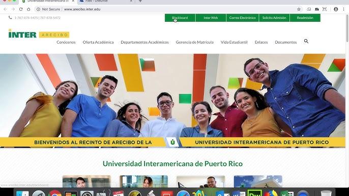 Webmaster Inter Arecibo Youtube