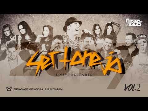 SET SERTANEJO UNIVERSITARIO  VOL2  DJ RIQUESALES