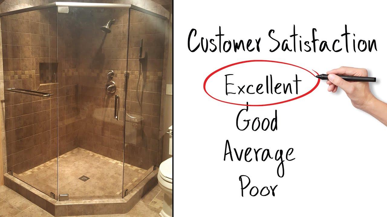 Frameless Shower Door Installation Success Story Youtube