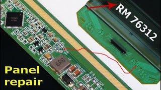 Led tv panel repair.