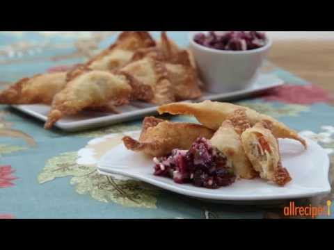 Make Wontons with Thanksgiving Leftovers! | Turkey Recipes | Allrecipes.com