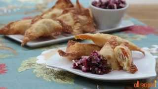 Turkey Recipes - Make Wontons With Thanksgiving Leftovers!