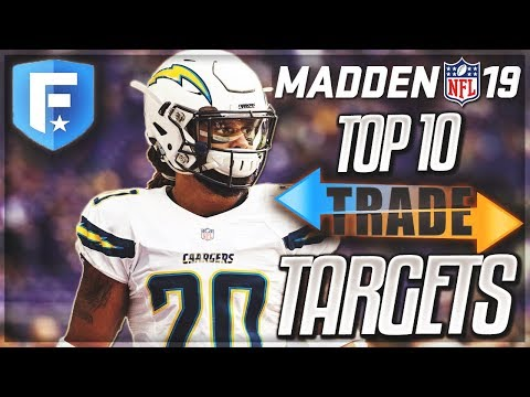 Top 10 Trade Targets For Your Franchise Mode | Madden 19 Connected Franchise Mode