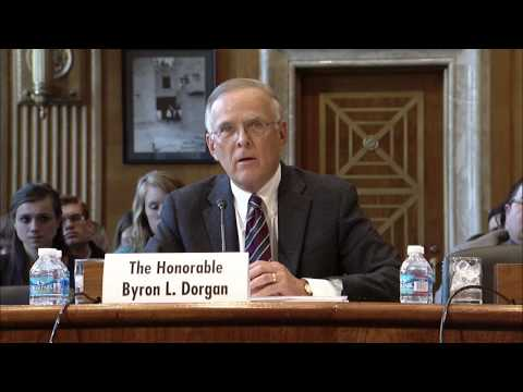 Senator Byron Dorgan Gives His Opening Statement at Senate Indian Affairs Committee Hearing