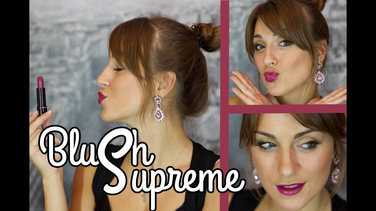 СЕКСИ ОСЕНЬ | ЯРКИЕ ГУБЫ и легкий вечерний макияж | BlushSupreme