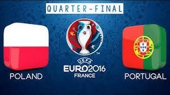 UEFA EURO 2016: Polen gegen Portugal - Die besten Momente [Viertelfinale/HD]