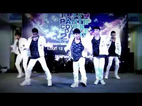 """Remorseless"" cover ""Warrior"" (B.A.P) @ ""Pantip Cover Dance 2014"""