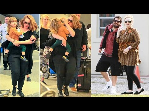 Adele With Her Boyfriend And Son And  Their Beautiful Moments Together  ❤
