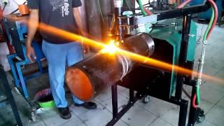 Pemotong Pipa Otomatis dengan Gas part 1