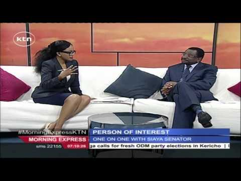 Morning express: Person of interest - Siaya SenatorJames Orengo