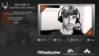 OFFLINE now!  - Livestreaming The Hunter on tiwtch.tv - click the link in the description!