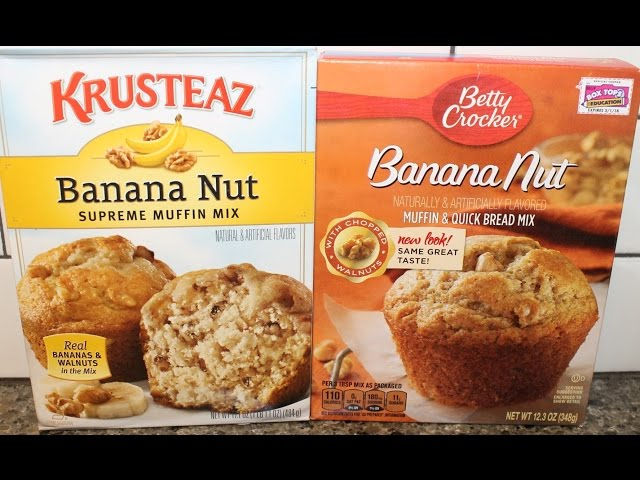 Recipes Breads How To Make Banana Nut Bread Using Quick Bread Mix