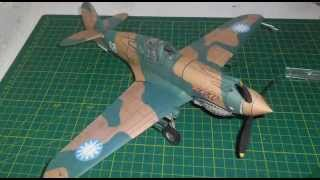 P 40 Warhawk papercraft