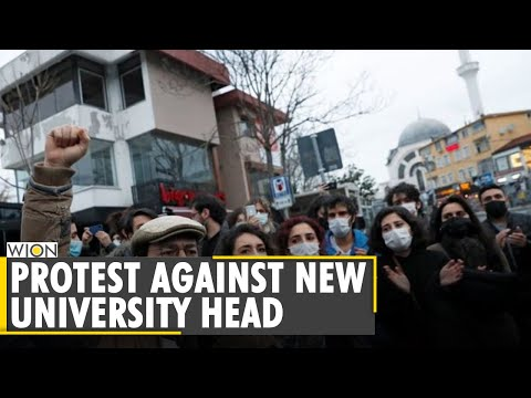 Turkish police detains dozens protesting against Erdogan appointed rector | World News