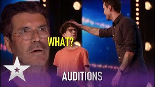 James & Dylan Piper: Father Son Magic Act LEAVE Simon SPEECHLESS! | Britain's Got Talent 2020