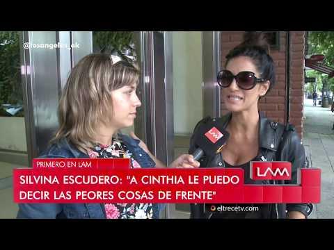 Silvina Escudero insinuó que Martín Baclini es gay y Cinthia no se quedó callada