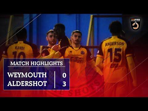 Weymouth Aldershot Goals And Highlights