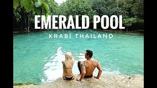THEY TRIED TO TAKE OUR DRONE AT THE EMERALD POOL, THAILAND