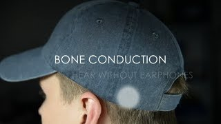 Cynaps: Bluetooth Bone Conduction Headset in a Hat