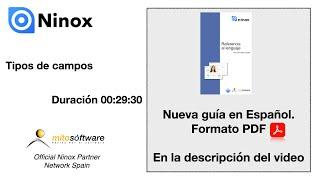 Ninox Database (Tipos de campos) en español