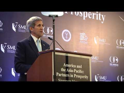 Defense Secretary John Kerry visits Singapore