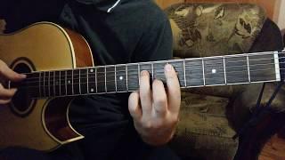 Аккорды на гитаре, квинтовый круг Am Dm G C F (джазовые аккорды)