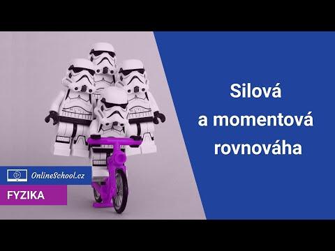 Silová a momentová rovnováha   1/3 Mechanika tuhého tělesa   Fyzika   Onlineschool.cz