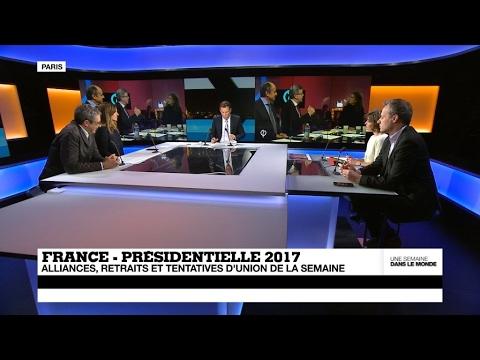 France – Présidentielle 2017 : alliances, retraits et tentatives d'union de la semaine