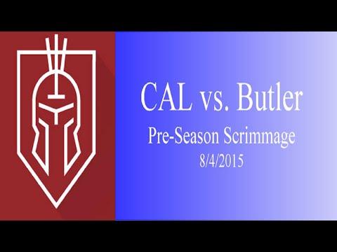 Christian Academy of Louisville Soccer 2015 vs Butler Traditional High School Preseason Scrimmage