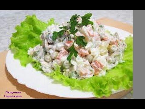 Салат с курицей, Курица с ананасами, рецепты с фото на