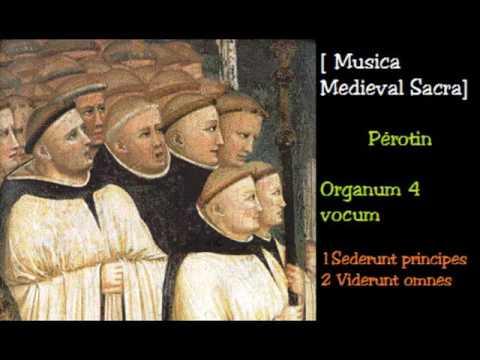Musica Medieval Sacra Pérotin  Organum 4 vocum