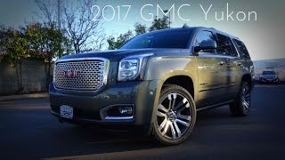 2017 gmc yukon denali 6 2 l v8 road test   review