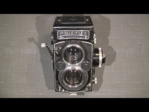 How to open Rolleiflex 3.5F Carl Zeiss 1:3.5 f=75mm and other details about the advance mechanism