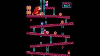 Donkey Kong Aracde Tips/Strategy Video