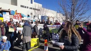 Tribal Delegates to BLM - Enough! Stop Chaco Sale! Clip 5