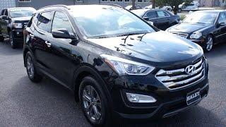 2015 Hyundai Santa Fe Sport Walkaround, Start up, Tour and Overview