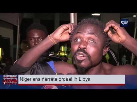 Nigerians narrate ordeal in Libya