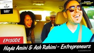 Business Entertainment Show - Flashionistas Hayla Amini and Ash Rahimi: Royalty of Temporary Tattoos