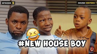 NEW HOUSEBOY - EPISODE 5 | HOUSE KEEPERS SERIES | MARK ANGEL COMEDY