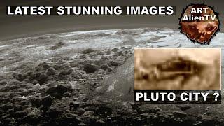 PLUTO CITY STRUCTURES ?? LATEST STUNNING IMAGES (Part 1) ArtAlienTV - 1080p60