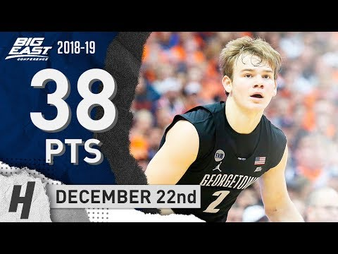 Mac McClung GOES OFF with 38 Points! Short Highlights vs Little Rock 2018.12.22 - SICK!