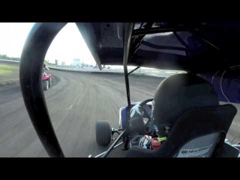 Carter Bingham Racing - July 25 2014 - English Creek Speedway Heat Race 1