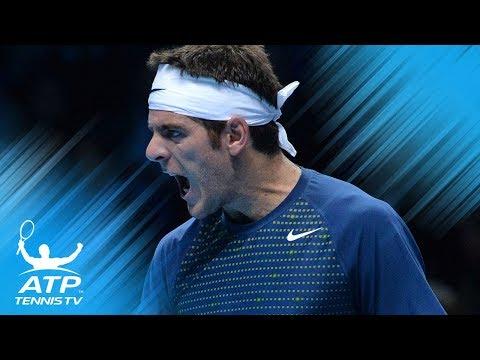 Great shots from the Roger Federer v Juan Martin del Potro rivalry