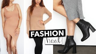 Knit Fashion Haul  & TRY ON - Witchery, Temt, Slide Show