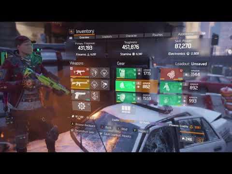 The Division // Banshee & Pred hybrid // Darkzone build