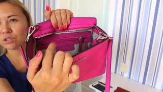 Обзор сумки Майкл Корс - Michael Kors Selma Medium Messenger Review + Mod Shots + what's in my bag